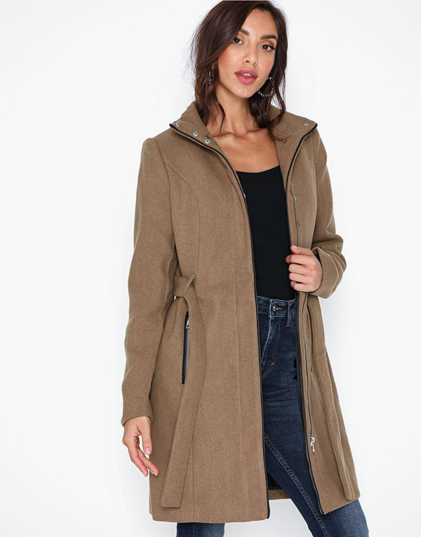 Vero Moda Vmclassbessy 3/4 Wool Jacket Ga