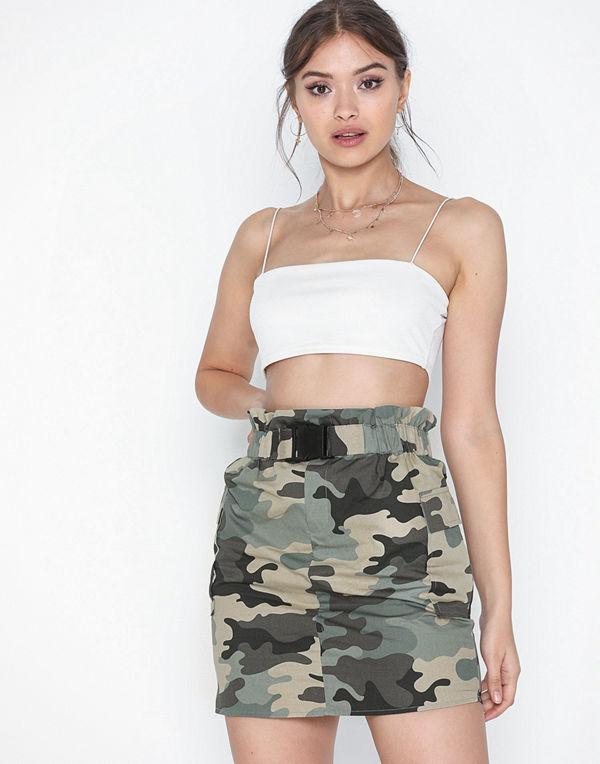Only Onllene Camo Short Skirt Wvn