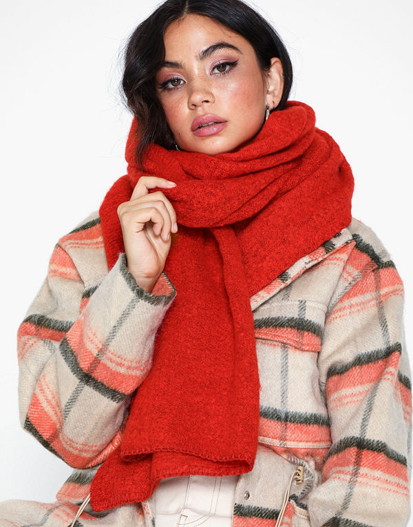 Only Onllima Knit Long Scarf Acc Noos