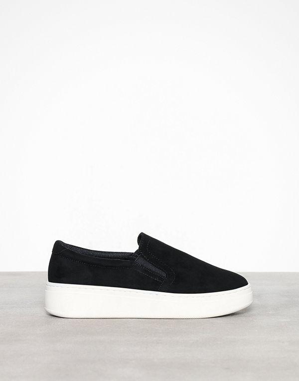 Duffy Faux Suede Slip-On Sneaker