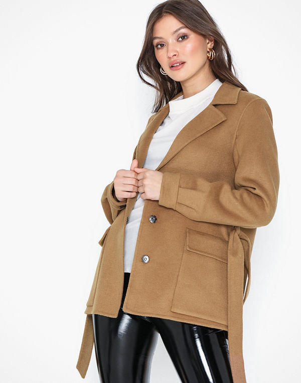 Selected Femme Slfellen Wool Jacket Ex