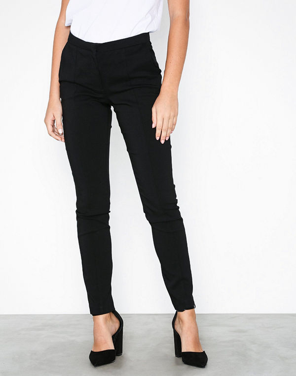 Pieces Pclogan Slim Mw Ank Pant-Jj/Noos