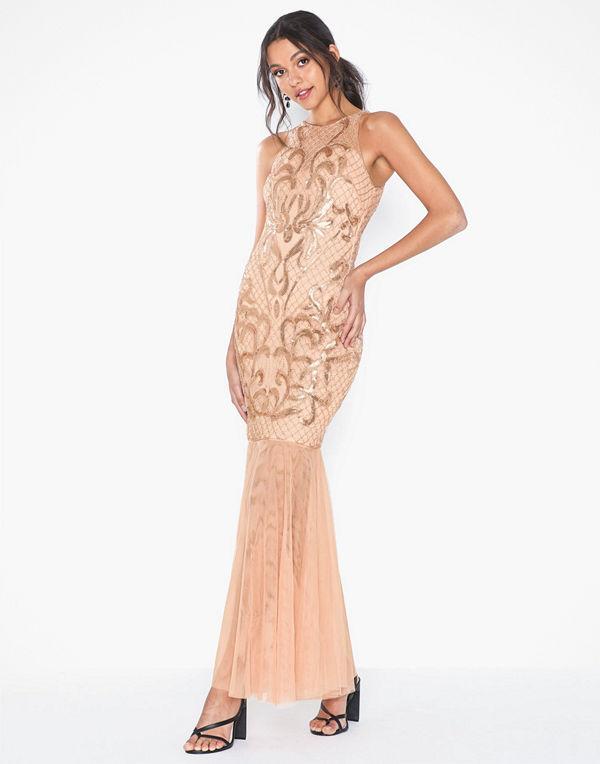 Forever Unique Halterneck Maxi Dress