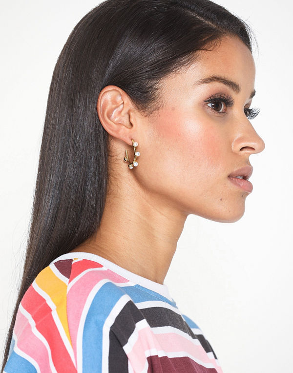 Cornelia Webb örhängen Pearled Hoop Earring S