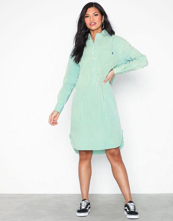 Polo Ralph Lauren Ls Chigo Dr-Long Sleeve-Casual Dress