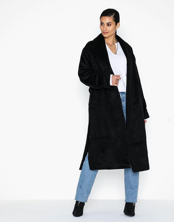 Missguided Collar Coat W Side Splits