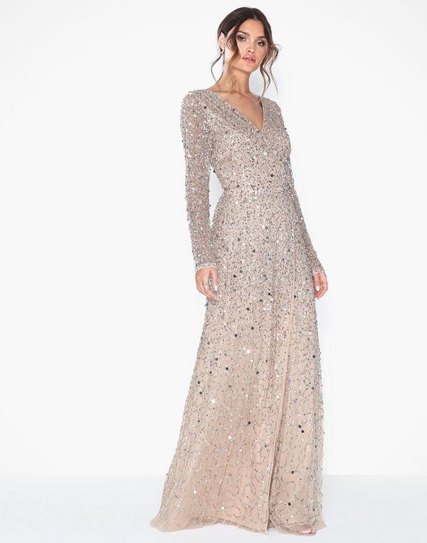 Maya All Over Embellished Dress