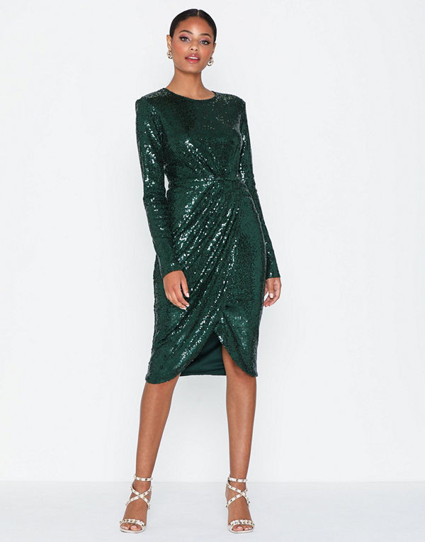 NLY Eve Padded Sequin Dress