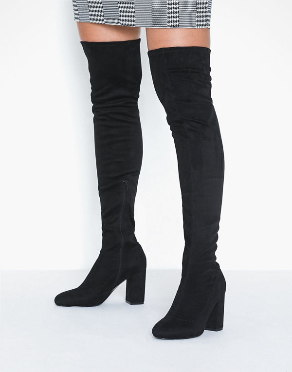 NLY Shoes Mid Thigh High Boot