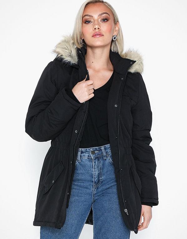 Jacqueline de Yong Jdystar Kia Fall Parka Jacket Otw G