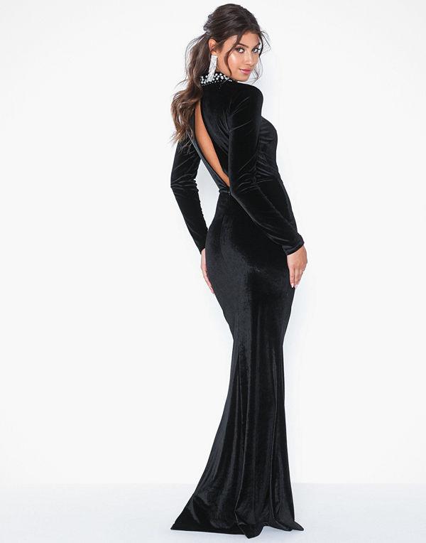 NLY Eve Beaded Velvet Gown