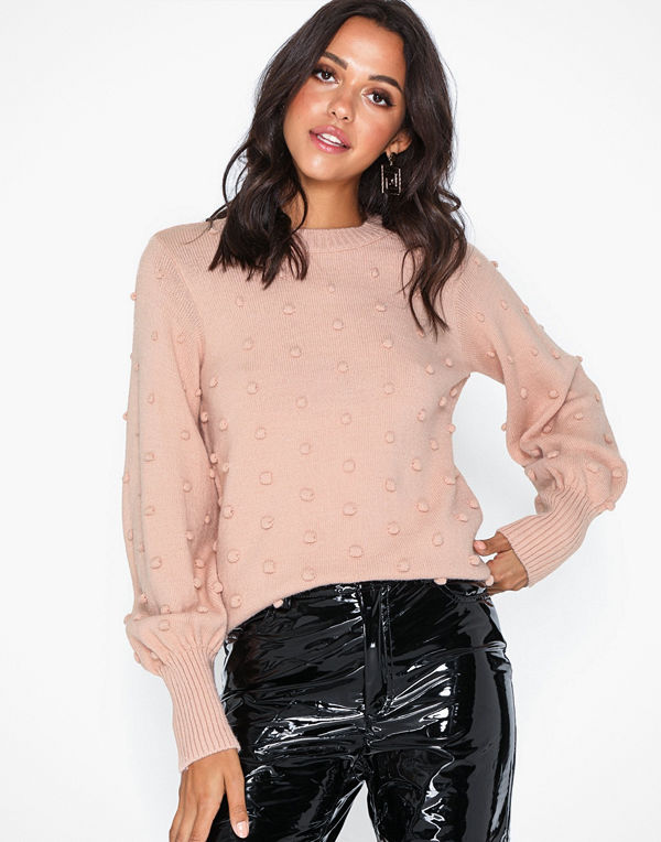 Object Collectors Item Objbouble L/S Knit Pullover Div