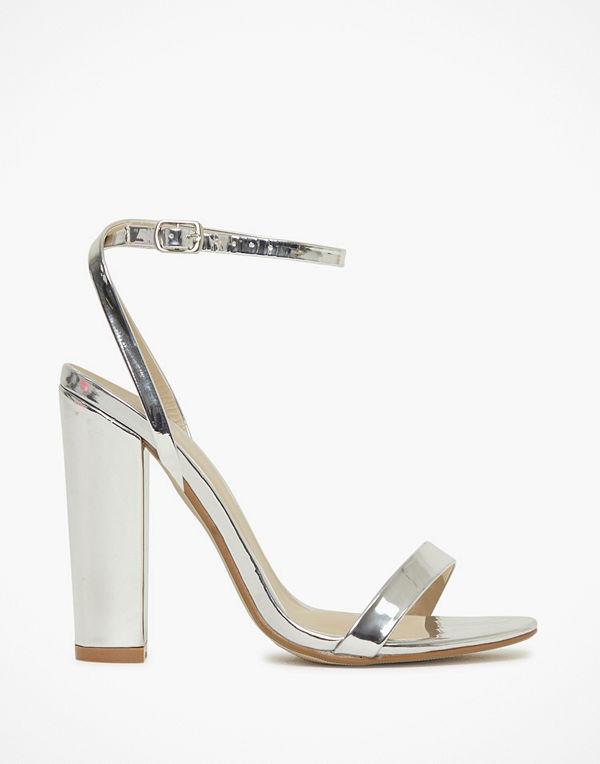 Missguided Block Heeled Sandal