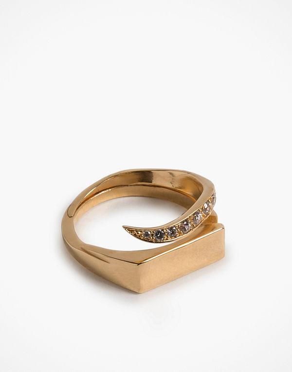 Cornelia Webb Warped Signet Ring S