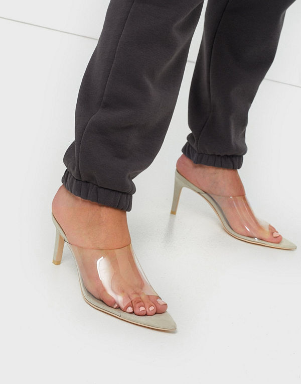 NLY Shoes Pointy Transparent Mule