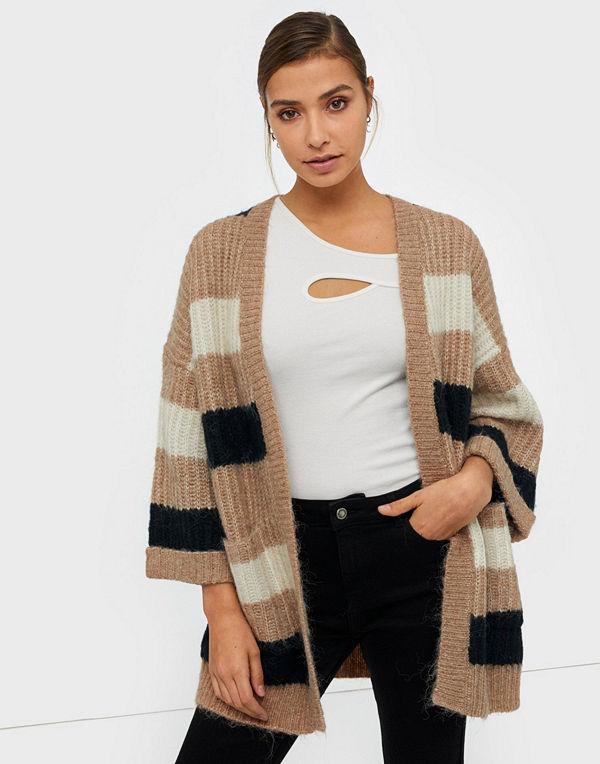 Y.a.s Yassunday Stripe Knit Cardigan