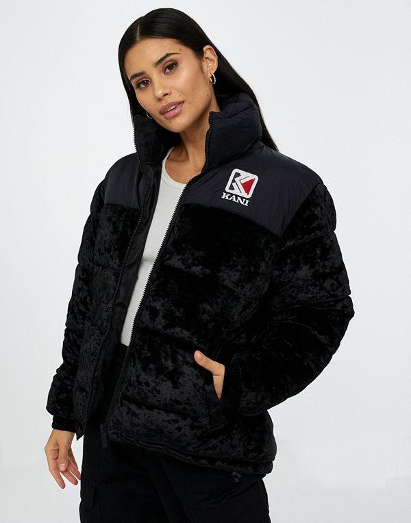 Karl Kani KK Retro Velvet Puffer Jacket