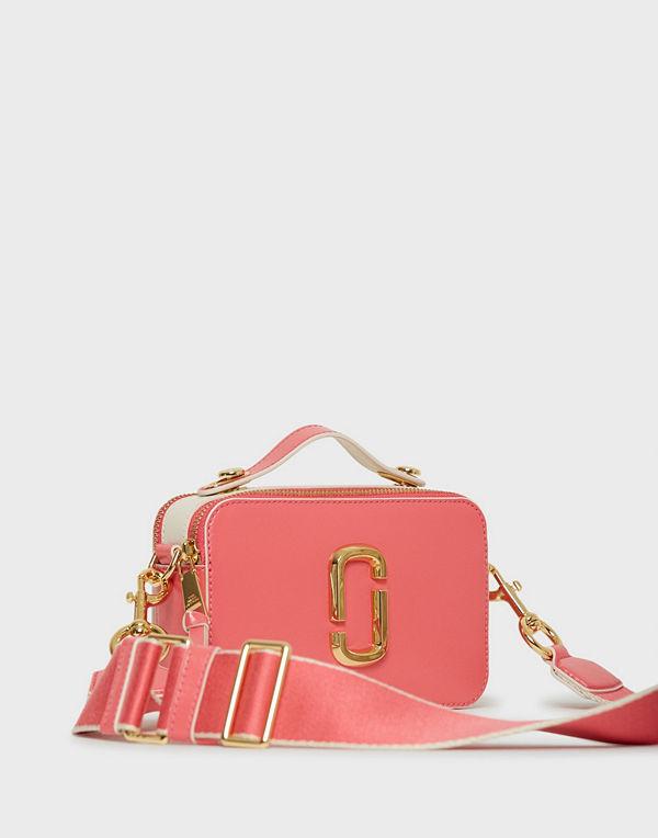 The Marc Jacobs rosa axelväska Large Snapshot