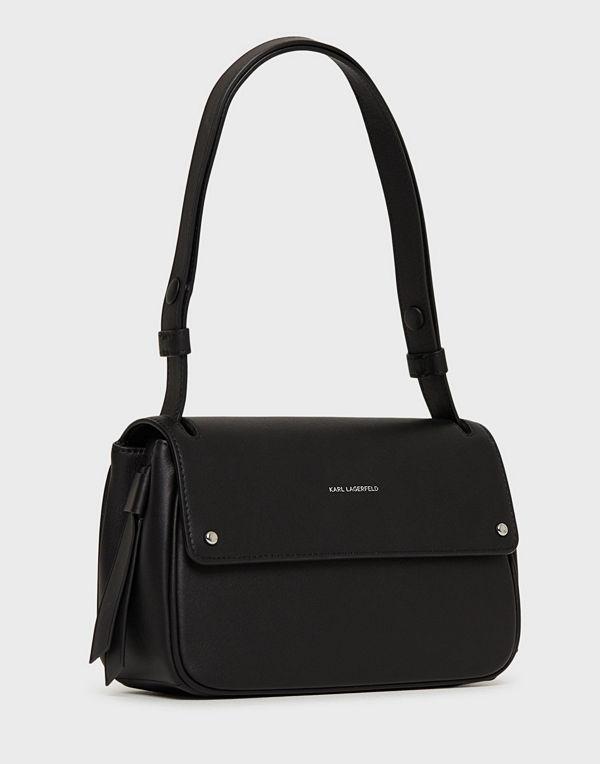 Karl Lagerfeld svart axelväska K/Ikon Shoulderbag