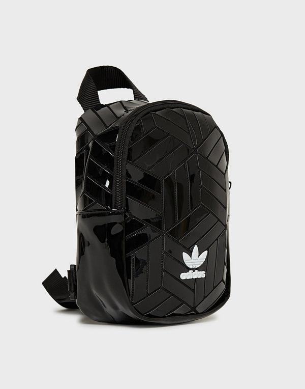 Adidas Originals svart ryggsäck Bp Mini 3D