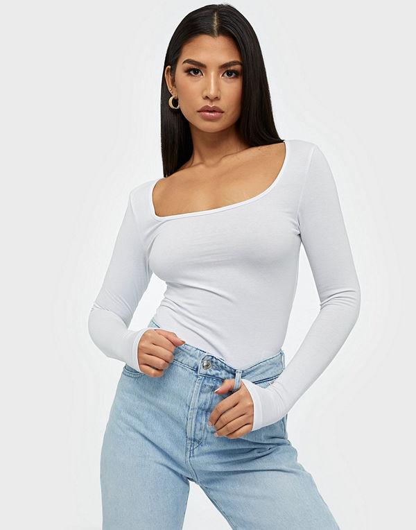 Vero Moda Vmmaxi My Ls Soft Short U-Neck Ga