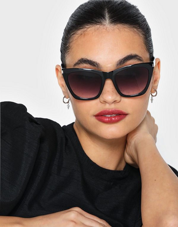 NLY Accessories Big Cat Eye Sunglasses