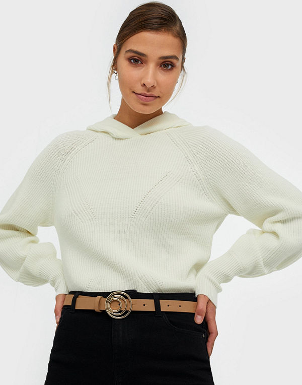Pieces Pcneema Jeans Belt Ljus Brun