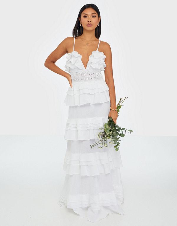 True Decadence Linen Maxi Dress