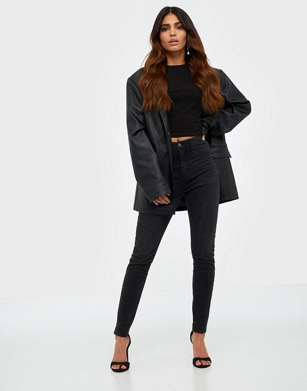 Gina Tricot Molly High Waist Jeans Svart