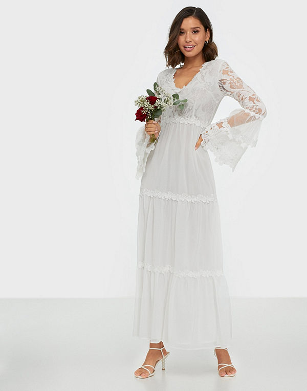 U Collection Long Sleeve Lace Dress