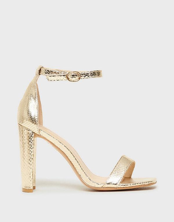 Glamorous Glamorous Snake Heels