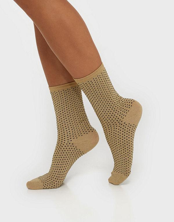 Lindex Sock Lurex Dot