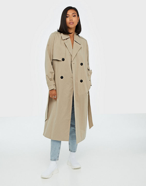 Selected Femme Slfweeky Ls Trench Coat W