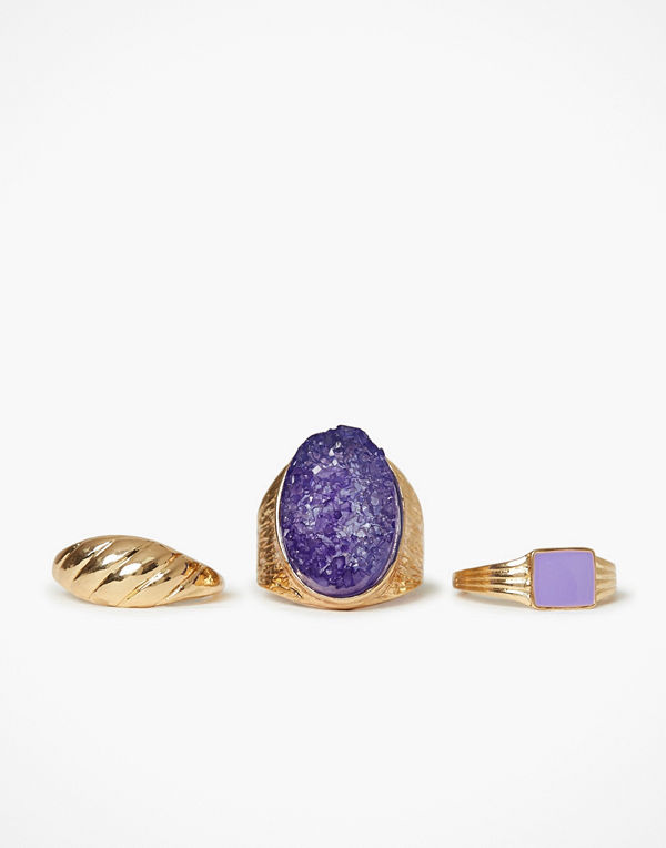 NLY Accessories Flawless Ring Set