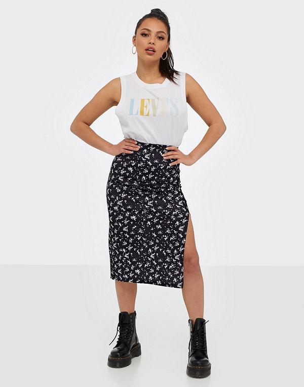 NLY Trend Print Slit Skirt
