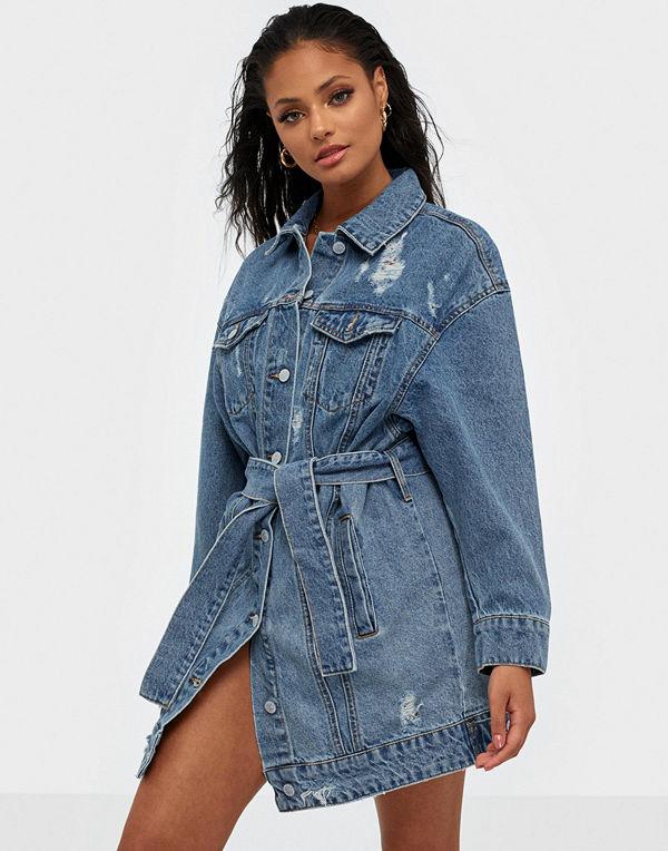 Only Onljones Ls Long Belted Dnm Jacket
