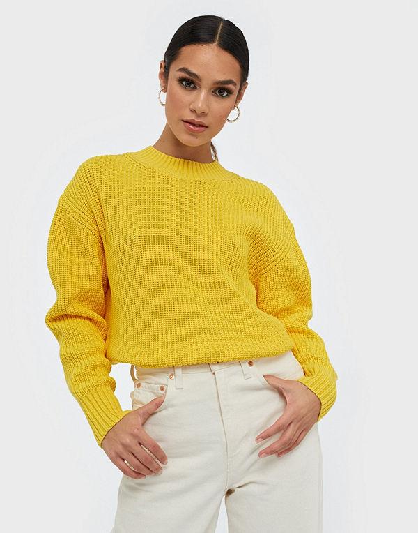 Selected Femme Slfbailey Ls Knit Slit O-Neck B