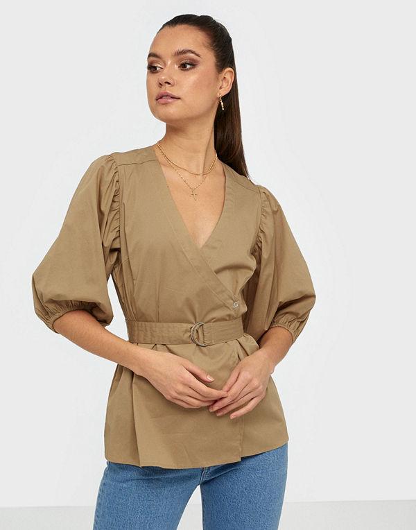 co'couture Pretoria Wrap Shirt