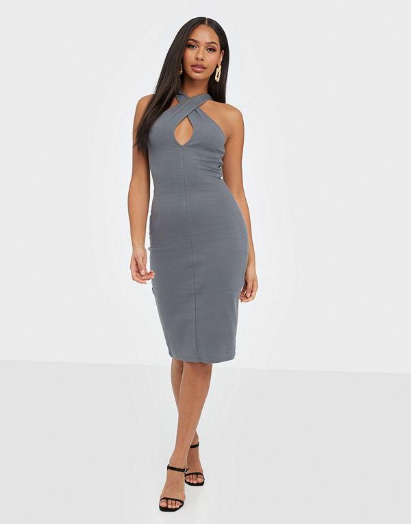 NLY Trend Wrap Neckline Dress