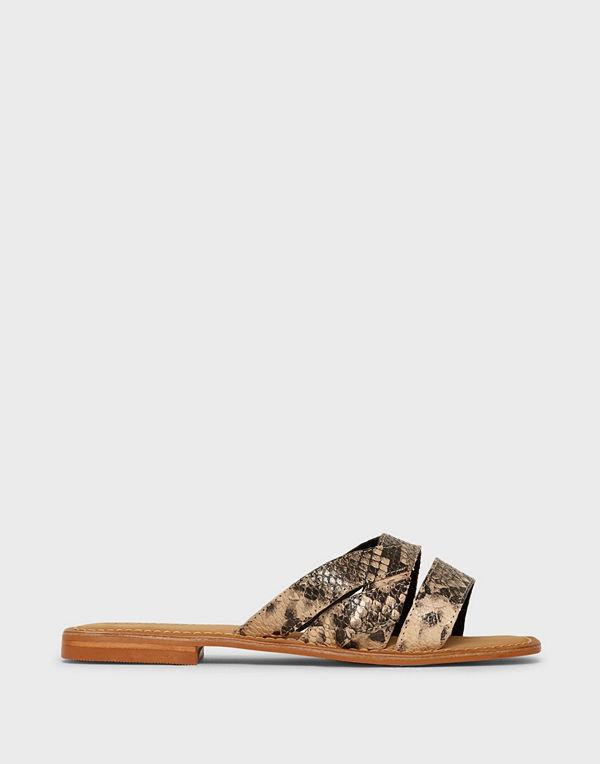 Vero Moda Vmfrea Leather Sandal