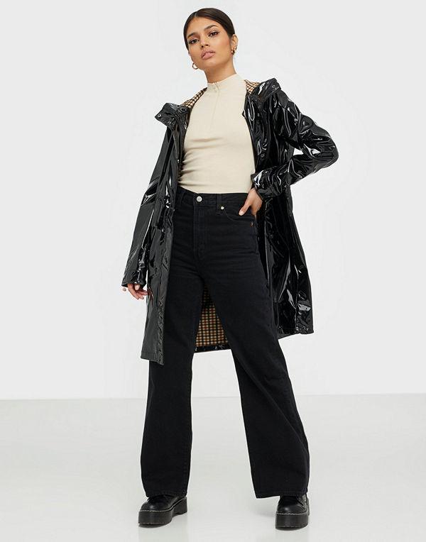Jacqueline de Yong Jdylak Glossy Hood Jacket Otw Sie