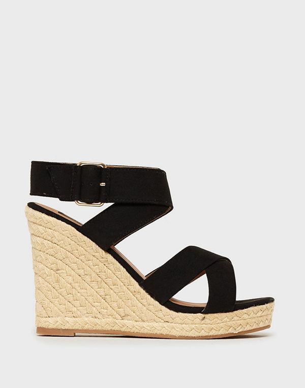 Only Onlamelia Wrap Heeled Sandal