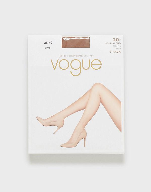 Vogue 2-Pack Sensual Duo 20 Den