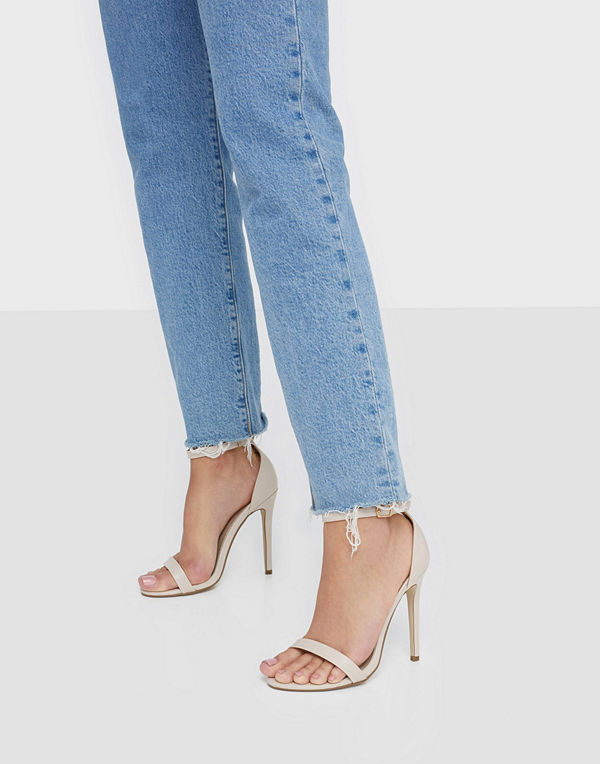 Missguided Basic Barely PU Heels