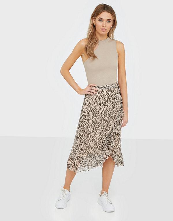 Vero Moda Vmloula H/W Wrap Skirt Exp Ga