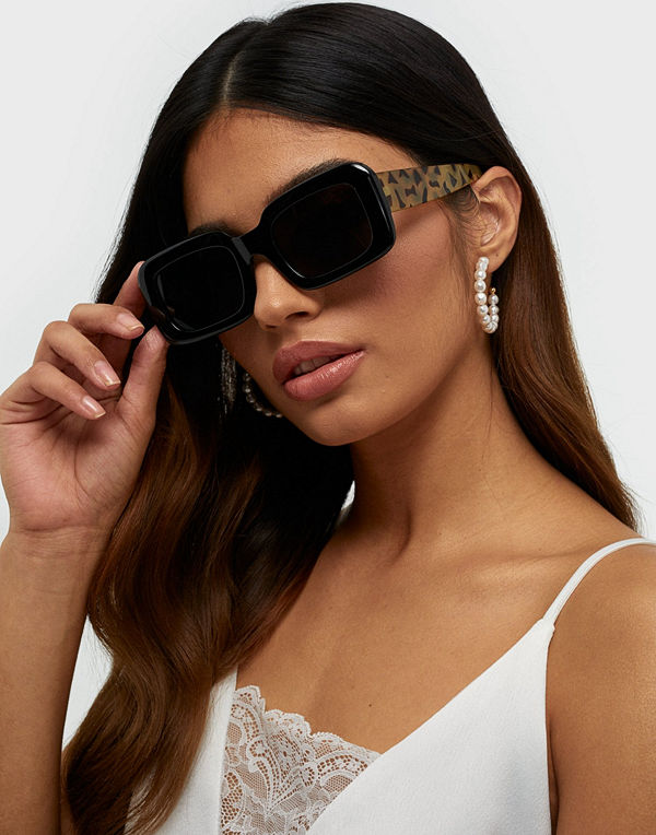 NLY Accessories Chunky Square Sunglasses