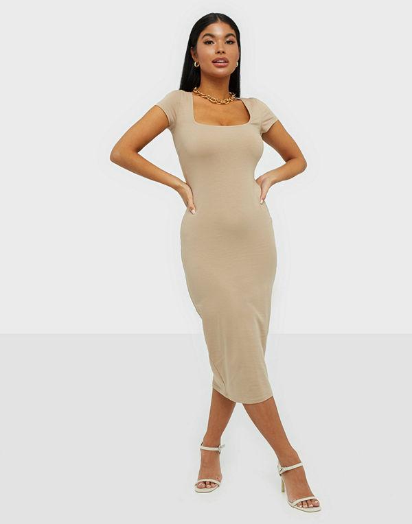 Square Neck Tee Dress