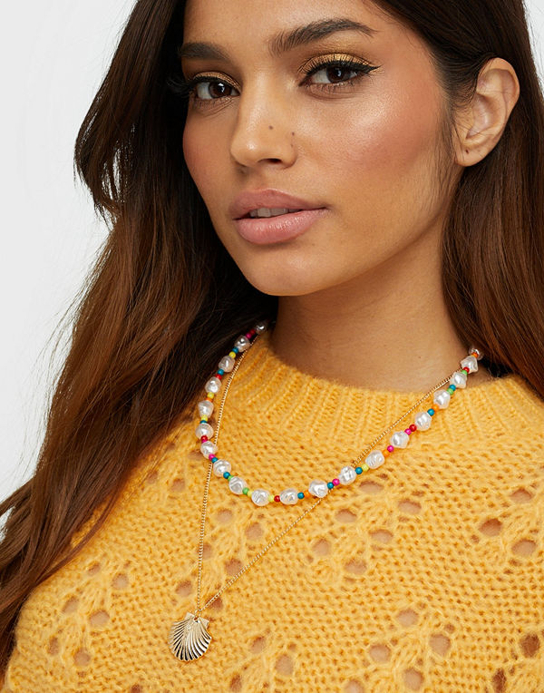 NLY Accessories halsband Vacay Vibe Necklaces
