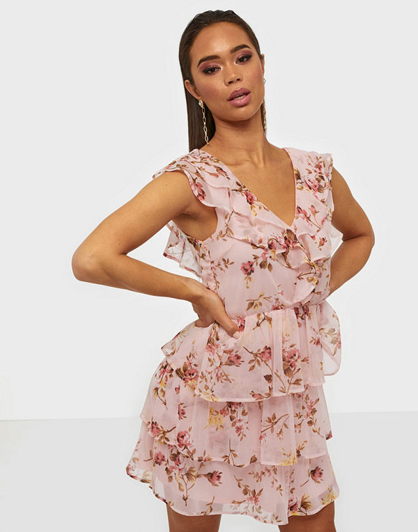 NLY Trend Sheer Frill Dress