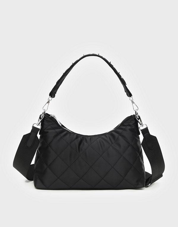 Unlimit svart väska Shoulder bag Edith